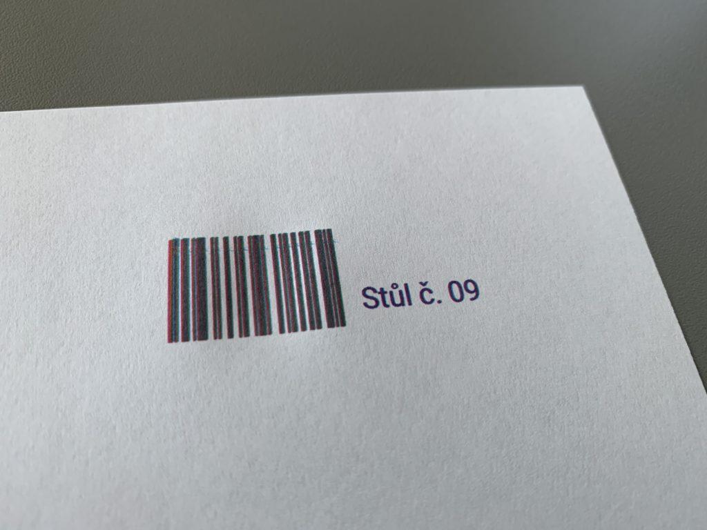 COLOP e-mark - čárový kód